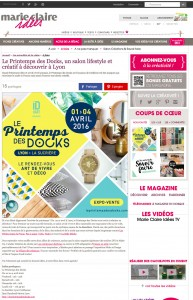 Marie Claire 17 Mars 2016