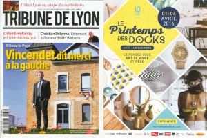 Tribune de Lyon Mars 2016