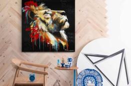 Sttanding_déco_lion