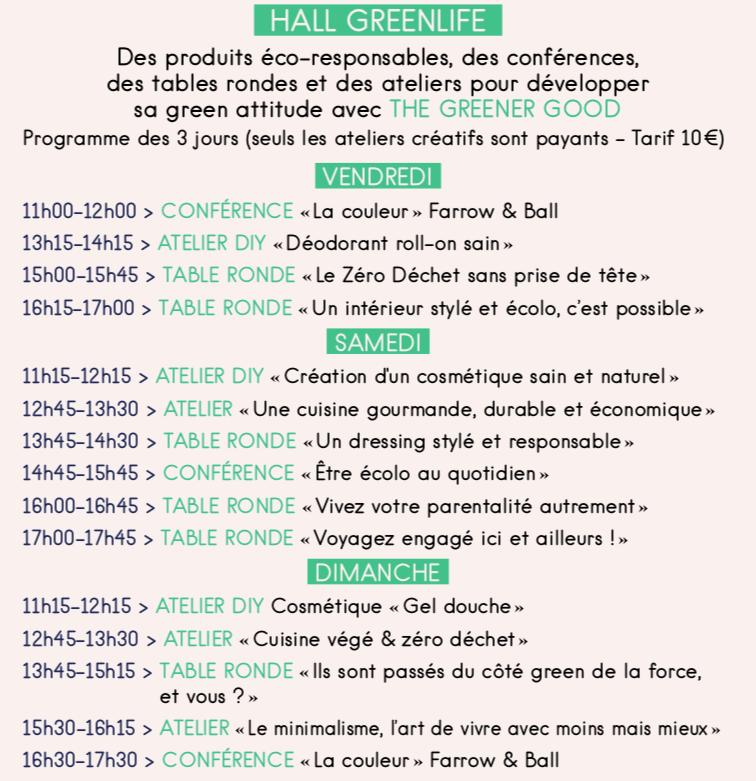 Programme green