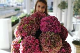 Amarylice -deco-art-de-vivre-bouquet-fleur-femme