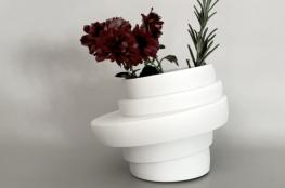 JFJ Design Studio -deco-art-de-vivre-vase-plantes-fleurs-blanc-asymetrique
