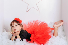 Tutus Rose Vermeil pour petites filles