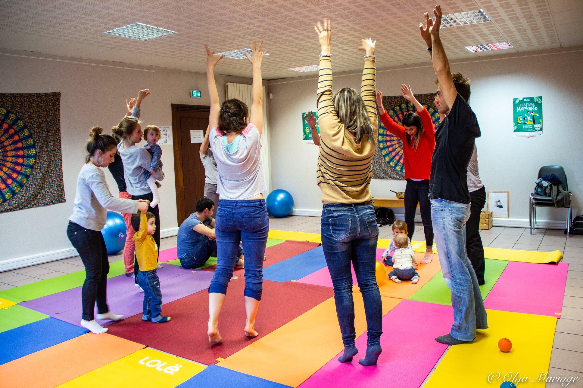 Atelier kids danse en famille