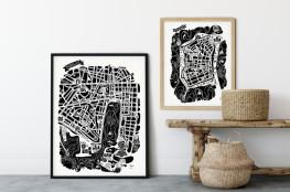 Tokiko illustrations villes